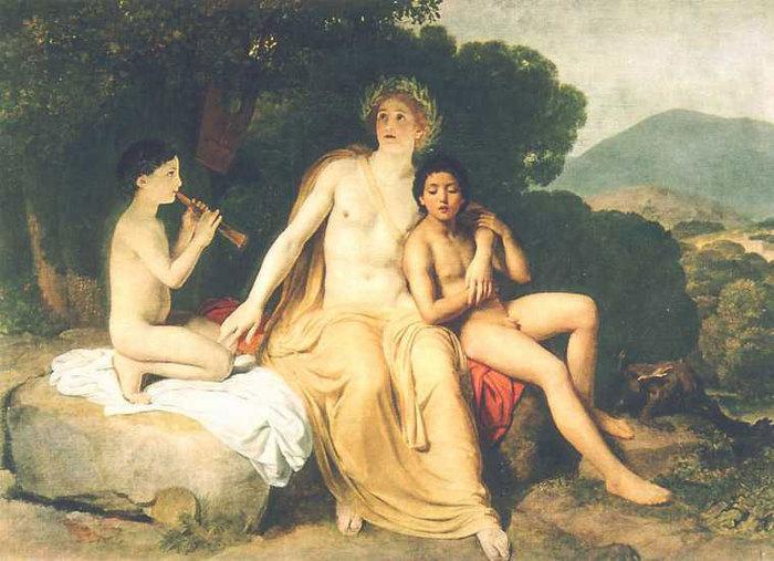 Древнегреческая легенда о кипарисе